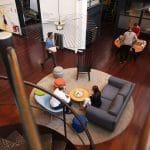 Be Square aime l'art dans ses espaces coworking