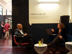 Location salle créative-brainstorming - Roubaix - Carolyne Carlson - Be Square : Photo salle intimiste idéale pour le brainstorming dans un espaces tiers-lieu & coworking