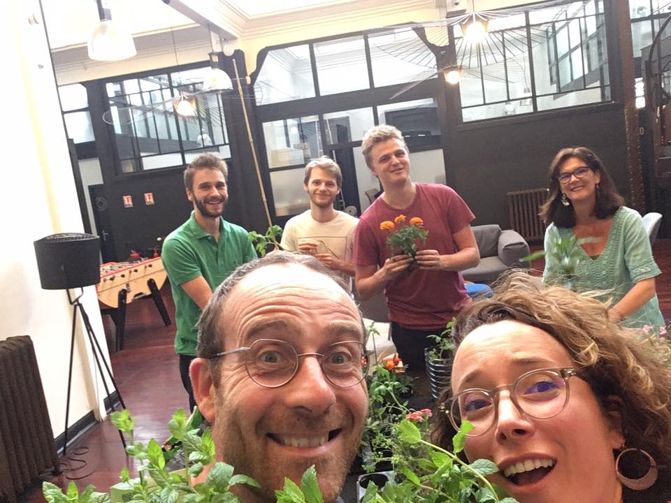 Be Square espace coworlking en permaculture